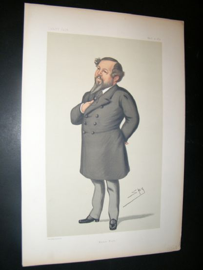 Vanity Fair Print 1879 Mitchell Henry, Caricature | Albion Prints